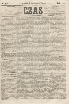 Czas. [R.8], № 279 (7 grudnia 1855)