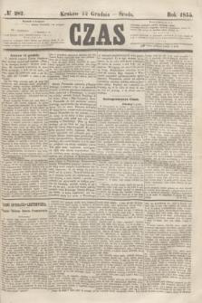 Czas. [R.8], № 282 (12 grudnia 1855)
