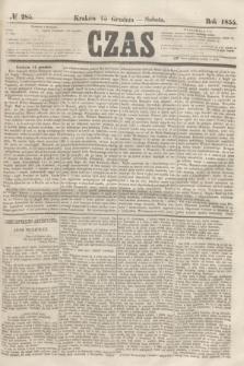 Czas. [R.8], № 285 (15 grudnia 1855)