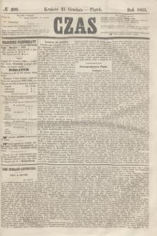 Czas. [R.8], № 290 (21 grudnia 1855)