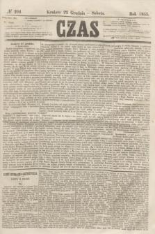 Czas. [R.8], № 291 (22 grudnia 1855)