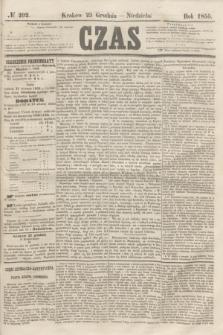 Czas. [R.8], № 292 (23 grudnia 1855) + dod.
