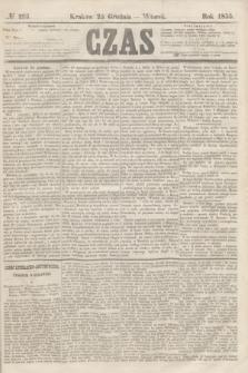 Czas. [R.8], № 293 (25 grudnia 1855)