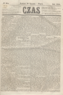Czas. [R.8], № 294 (28 grudnia 1855)