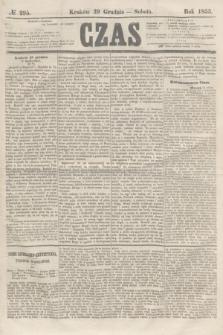 Czas. [R.8], № 295 (29 grudnia 1855)