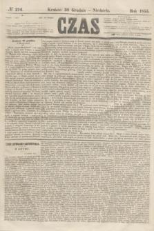 Czas. [R.8], № 296 (30 grudnia 1855) + dod.