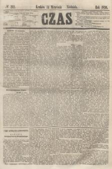 Czas. [R.9], № 212 (14 września 1856) + dod.