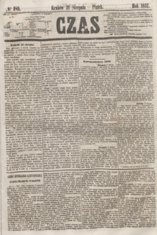 Czas. [R.10], № 189 (21 sierpnia 1857)