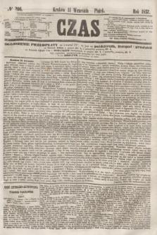Czas. [R.10], № 206 (11 września 1857)