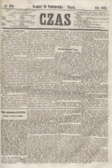 Czas. [R.10], № 236 (16 października 1857)
