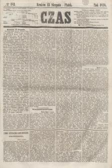 Czas. [R.11], № 183 (13 sierpnia 1858)