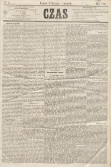 Czas. [R.14], Ner 2 (3 stycznia 1861)