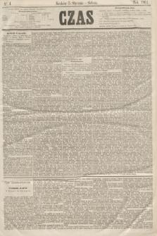 Czas. [R.14], Ner 4 (5 stycznia 1861)