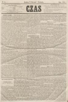Czas. [R.14], Ner 5 (6 stycznia 1861)