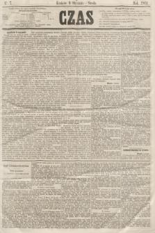 Czas. [R.14], Ner 7 (9 stycznia 1861)