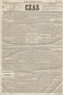 Czas. [R.14], Ner 16 (19 stycznia 1861)