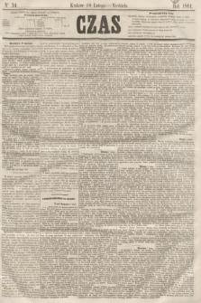 Czas. [R.14], Ner 34 (10 lutego 1861)