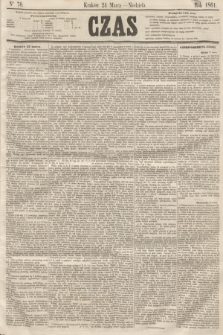 Czas. [R.14], Ner 70 (24 marca 1861) + dod.