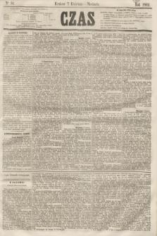 Czas. [R.14], Ner 81 (7 kwietnia 1861)