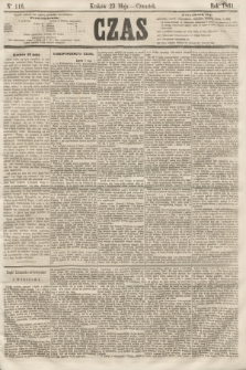 Czas. [R.14], Ner 116 (23 maja 1861)