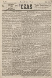 Czas. [R.14], Ner 148 (2 lipca 1861)