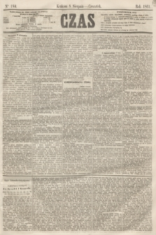 Czas. [R.14], Ner 180 (8 sierpnia 1861)