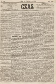 Czas. [R.14], Ner 203 (5 września 1861)