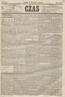 Czas. [R.14], Ner 212 (15 września 1861)