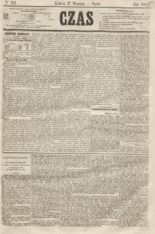 Czas. [R.14], Ner 222 (27 września 1861)