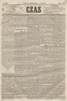 Czas. [R.14], Ner 230 (6 października 1861)