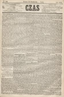 Czas. [R.14], Ner 244 (23 października 1861)