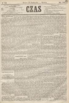 Czas. [R.14], Ner 248 (27 października 1861)