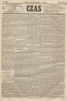 Czas. [R.14], Ner 250 (30 października 1861)