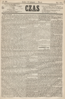 Czas. [R.14], Ner 266 (19 listopada 1861)