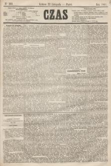 Czas. [R.14], Ner 269 (22 listopada 1861)