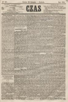 Czas. [R.14], Ner 271 (24 listopada 1861)