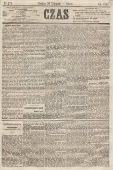 Czas. [R.14], Ner 276 (30 listopada 1861)