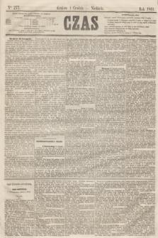 Czas. [R.14], Ner 277 (1 grudnia 1861)
