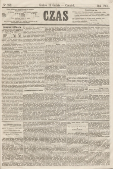 Czas. [R.14], Ner 292 (19 grudnia 1861)