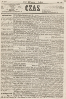 Czas. [R.14], Ner 295 (22 grudnia 1861)