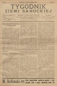 Tygodnik Ziemi Sanockiej. 1911, nr9