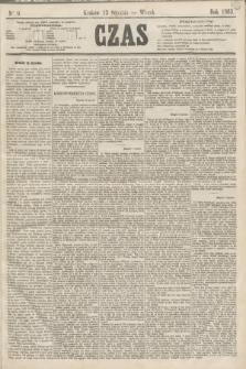 Czas. [R.16], Ner 9 (13 stycznia 1863)