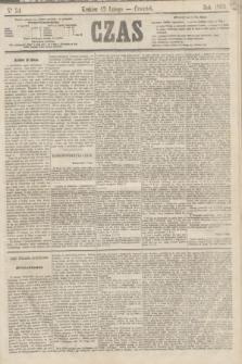 Czas. [R.16], Ner 34 (12 lutego 1863)