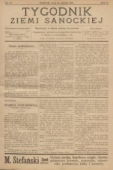Tygodnik Ziemi Sanockiej. 1911, nr11