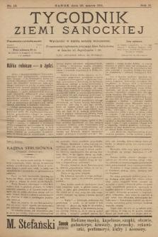 Tygodnik Ziemi Sanockiej. 1911, nr13