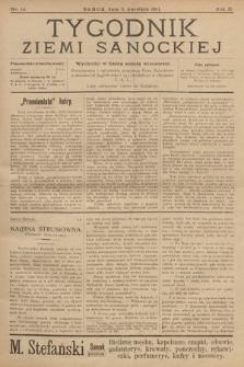 Tygodnik Ziemi Sanockiej. 1911, nr14