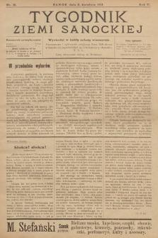 Tygodnik Ziemi Sanockiej. 1911, nr15