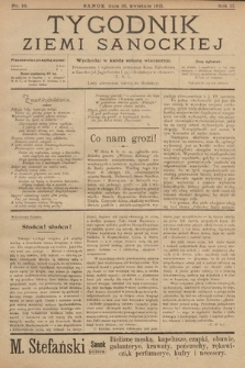 Tygodnik Ziemi Sanockiej. 1911, nr16