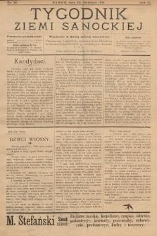 Tygodnik Ziemi Sanockiej. 1911, nr18