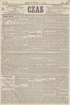 Czas. [R.16], Ner 213 (19 września 1863)